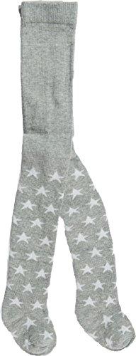 Bonnie Doon Mädchen Strumpfhose Stars, Hellgrau, Größe 68-74