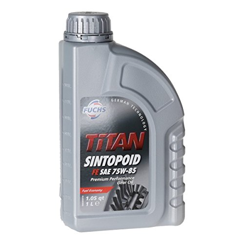 FUCHS Achsöl Achsgetriebeöl TITAN SINTOPOID FE SAE 75W-85 API GL-5-1 Liter