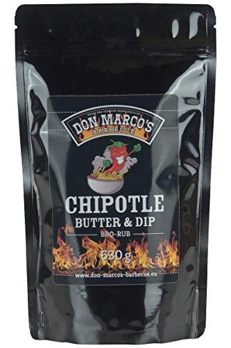 Don Marco's Barbecue Rub Chipotle Butter & Dip 630g im Nachfüllbeutel, Grillgewürzmischung
