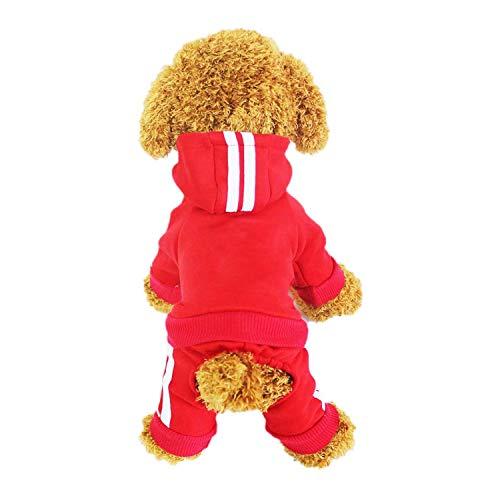 LifeWheel-Pull à capuche en coton, 4pattes pour animal domestique