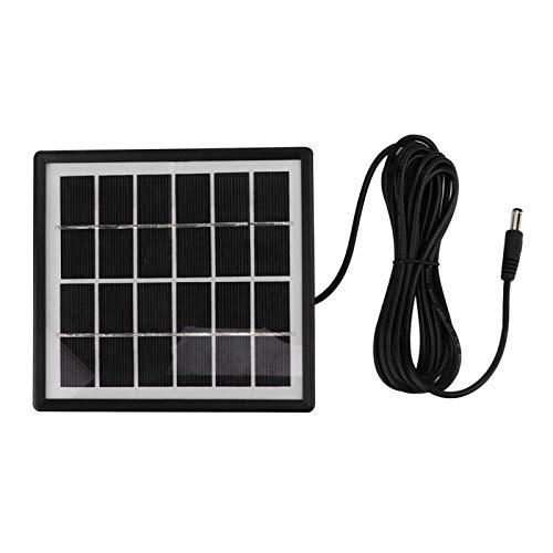 Solar Pond Aerator, AC/DC Dual-Use Belüftungspumpe Solarbetriebener Oxygenator, Solar Power Panel Wasserpumpe 6V 1,5 W Solarpanel für Aquarien Aquarium