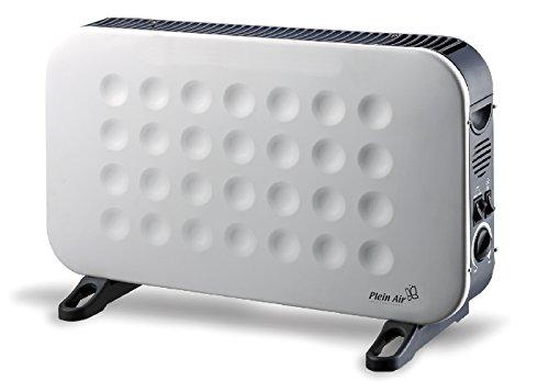 Plein Air CONVEX SLIM TURBO Wit 2000W radiator - elektrische kamerverwarming (radiator, wand, hal, wit, 2000 W, 750 W, 2000 W)