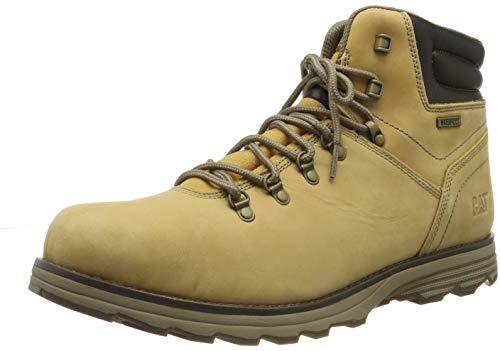 Cat Footwear SIRE WP, Botas Hombre, Honey Reset, 43 EU