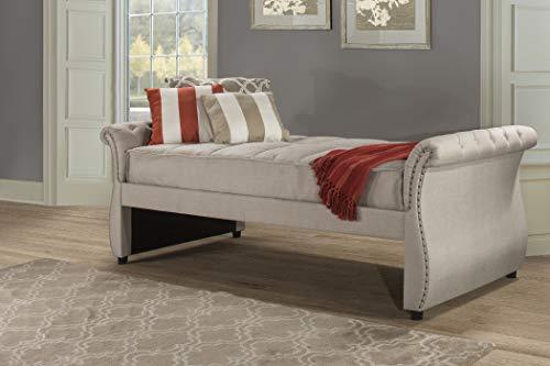 Hillsdale Furniture Hunter Backless Daybed Twin Linen Sandstone