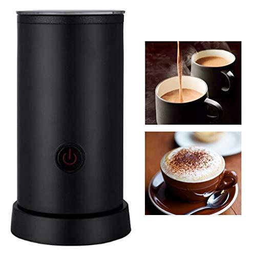 KangHan Automatische melkopschuimer met grote inhoud voor hete en koude melk, koffiemok van roestvrij staal