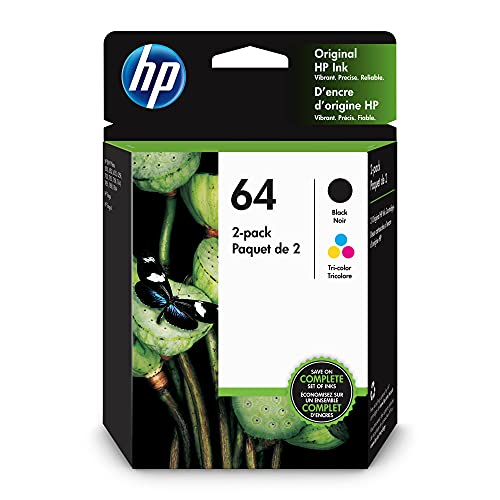Original HP 64 Black/Tri-color Ink …