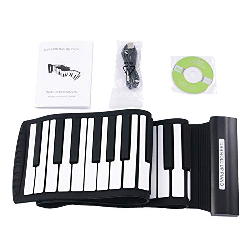 Fantastic Deal! YRXX Silicone Portable Piano USB 88 Keys MIDI Roll Up Electronic Piano Keyboard Sili...