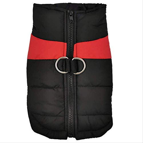 Liujingxue Huisdier kleding, pantser ski pak waterdicht katoenen jas, 6XL, Rood