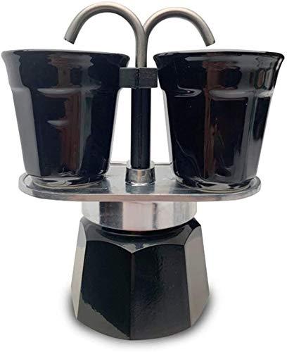 Best Buy! Coffee Pot Espresso Maker 2cup Mocha Machine Espresso Coffee Maker Couple Double Enjoy Pot...