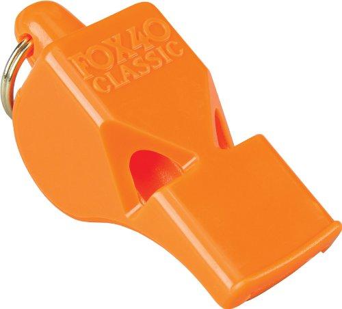 Nayblan Fox 40 Silbato, Unisex Adulto, Naranja, S