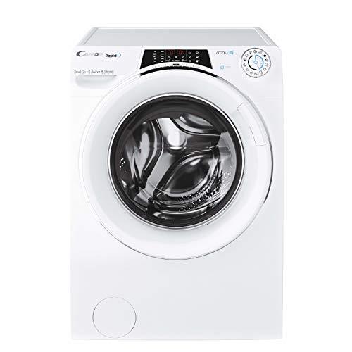 CANDY RO – Lavatrice a Carica Frontale 8 kg, 9 programmi rapidi, 1200 RPM, WiFi & Bluetooth, Motore Inverter, Pannello di Controllo sul portellone Lavatrice 10 kg Bianco