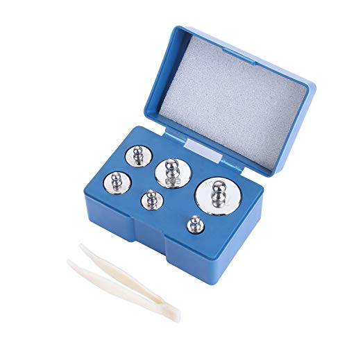 HYG Calibración De Acero Peso del Kit De 200 gram Precisión Mini Bal