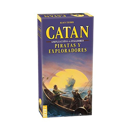 Devir - Catan, Piratas Exploradores, juego mesa BGPIR56