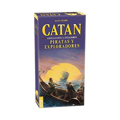 Devir - Catan, Piratas y Exploradores, juego de mesa (BGPIR56) - Ampliación...