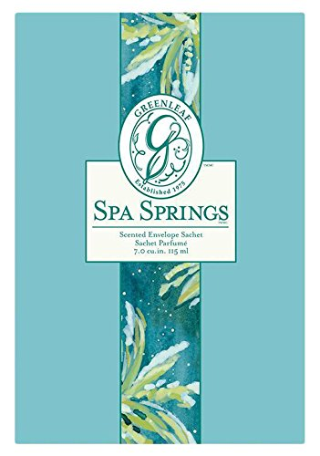 Greenleaf Spa Springs - Bolsita aromatizada grande