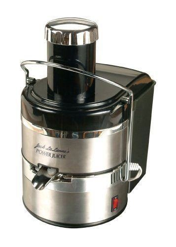 Jack LaLanne's Power Juicer deluxe stainless steel...
