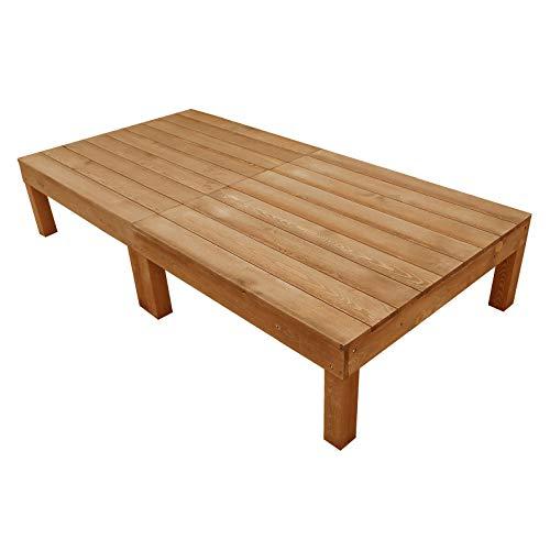 igarden アイガーデン ウッドデッキ2点セット ブラウン アイガーデンオリジナル天然木製ウッドデッキ、ウッ...