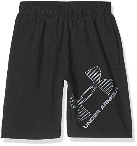 Under Armour Ua 8 Woven Graphic Short, Pantalón Corto Para Hombre, Negro (Black), L