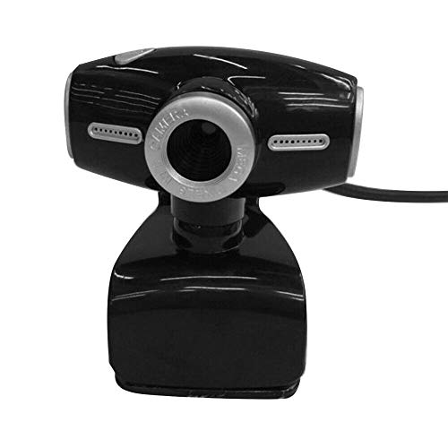Ububiko Webcam with microphone 720P, 0.3 megapixel clip-on, for desktop & notebook, USB streaming ideal for streaming, conferences, live broadcasts and video calls