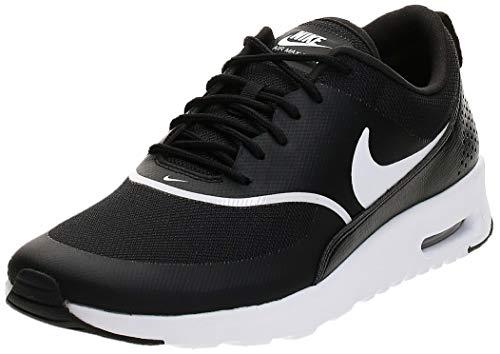 Nike Mädchen Damen Sneaker Air Max Thea Laufschuhe, Schwarz (Black/White 028), 35.5 EU