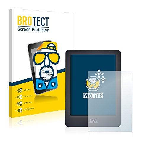 BROTECT 2X Entspiegelungs-Schutzfolie kompatibel mit Kobo Glo Bildschirmschutz-Folie Matt, Anti-Reflex, Anti-Fingerprint