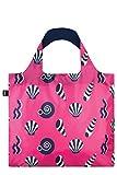 LOQI Artist Nautical Shells Bag Borsa da spiaggia, 50 cm, 20 liters, Multicolore (Multicolour)