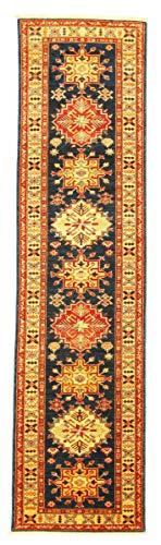 Nain Trading Kazak 297x75 Orientteppich Teppich Läufer Handgeknüpft Pakistan