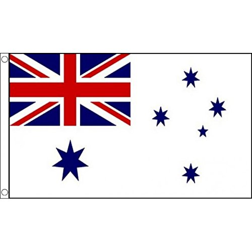 AZ FLAG Flagge KÖNIGLICH AUSTRALISCHE Marine 150x90cm - ROYAL Australian Navy Fahne 90 x 150 cm - flaggen Top Qualität