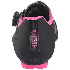 Fizik Tempo R5 Overcurve Cycling Shoe, Black/Pink Fluo - 38, Black/Pink Fluo
