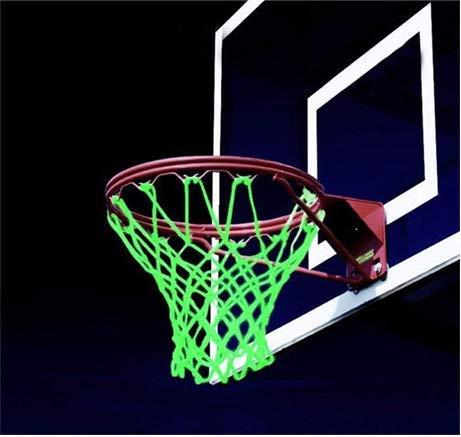 Buy Bargain kitt Outdoor Glowing Basketball Net Sun Powered Nylon Night Basketball Sports Gift Perfe...