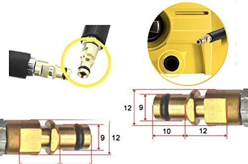 Hochdruckschlauch Quick Connect mit 3 Metern - 6