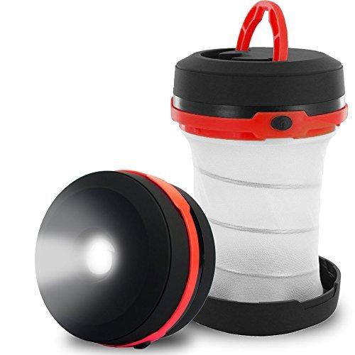 Wuzmei lampe torche LED utile en extérieur, jardin, camping, et en cas d'urgence comme Hurricanes, adaptateur d'éclairage, et inondations