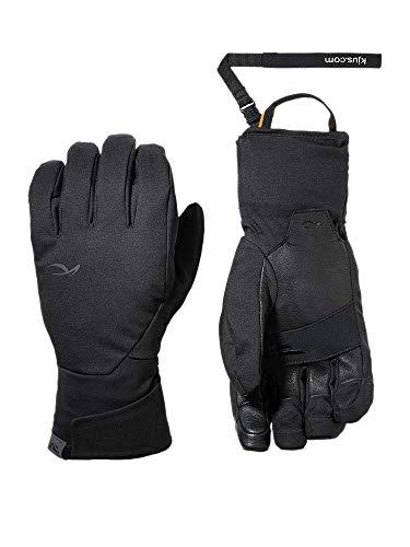KJUS Men Formula Glove Schwarz, Herren Dermizax™ Fingerhandschuh, Größe 9 - Farbe Black