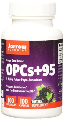 Jarrow Formulas OPCs + 95 100 mg, Suports Cardiovascular Health, 100...