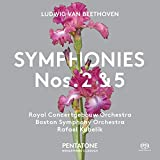 Beethoven: Symphonies Nos 2 &