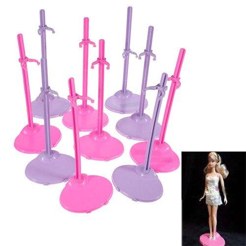 Soporte de muñeca de soporte para exhibición de juguete para muñecas Barbie