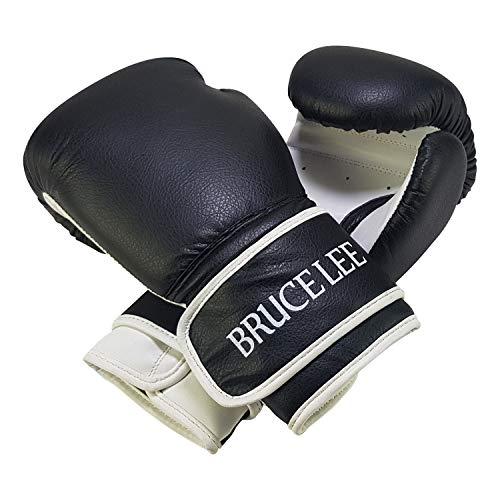 Tunturi 14BLSBO009 Guantes Boxeo, Unisex Adulto, Negro, 6oz
