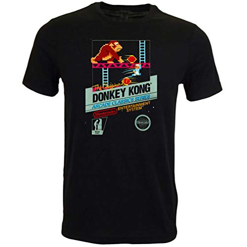 Unisex Donkey Kong NES Art T-shirt, S to 3XL