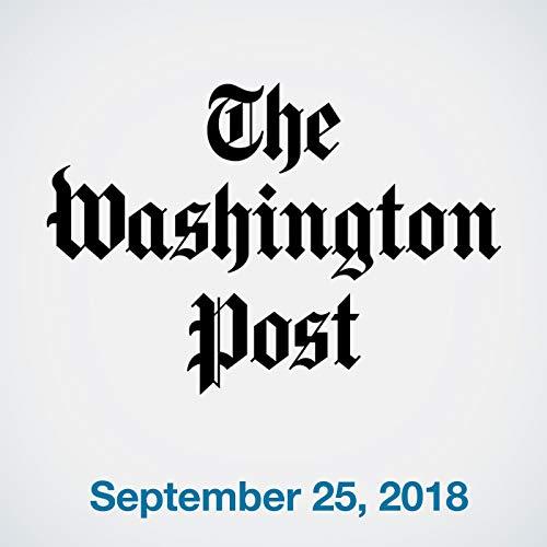 September 25, 2018 copertina