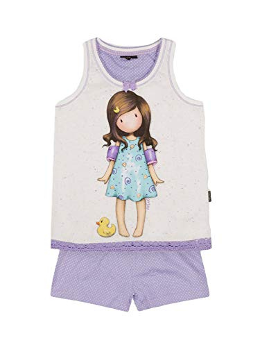 Santoro Pijama Tirantes Little Duck para Niña, Color Crudo, Talla 12