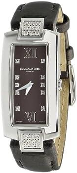 Raymond Weil Shine Brown Dial Diamond Ladies Watch