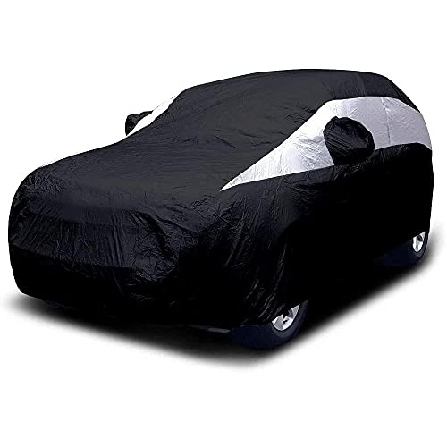 Titan Lightweight Mid-Size SUV Car Cover (Jet Black) for...