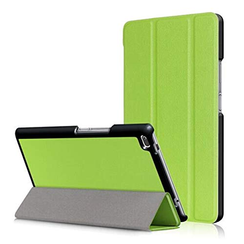 GHC PAD Cases & Covers For Acer Iconia One 7.0 inch, Tablet Case Custer Tri 3 Fold Folio Stand Bracket Flip Leather Cover For Acer Iconia One 7 B1-790 B1 790 7.0 inch (Color : KST Green)