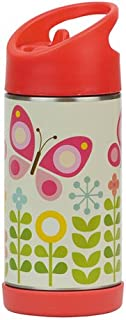Petit Collage Insulated Stainless Steel Water Bottle Butterflies