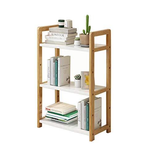 JCNFA planken boek plank gratis staande plank display stand vloer stand opslag rack vierkant drielaags whiteboard