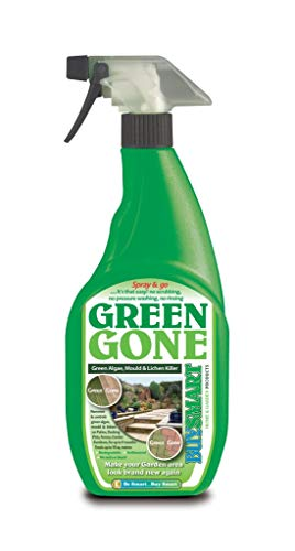 Buysmart Products 750ml Green Gone Ready to Use green Algae, Mould and Lichen Killer