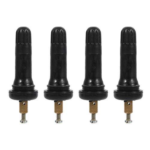 Vástagos de válvulas de repuesto TPMS para sistema de control de presión de los neumáticos, 4 unidades