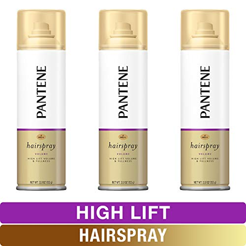 Pantene ProV Flat to Volume Shampoo Conditioner Root Lifter & Hairspray