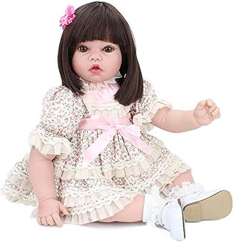 CHENG Niedliche Wiedergeborene Puppe 50Cm Realistische Neugeborene Puppen Spielzeug Spielzeug