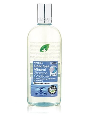 Dr. Organic Sali Mar Morto Shampoo & Conditioner, 265 ml, per stuk verpakt (1 x 265 ml)